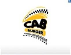 CAB BURGER FRESH AND DELICIOUS
