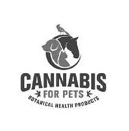C CANNABIS FOR PETS BOTANICAL HEALTH PRODUCTS