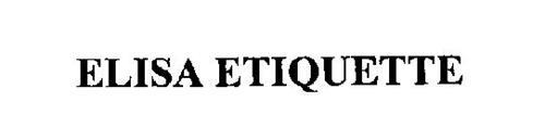 ELISA ETIQUETTE