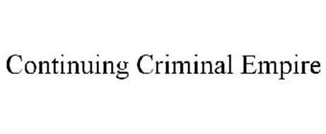 CONTINUING CRIMINAL EMPIRE