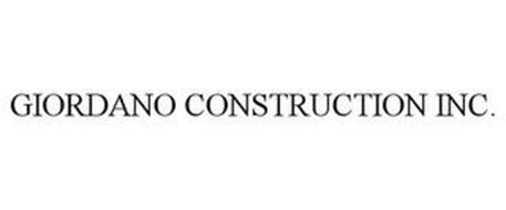 GIORDANO CONSTRUCTION INC.