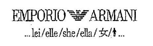 EMPORIO ARMANI ... LEI/ELLE/SHE/ELLA/ ...
