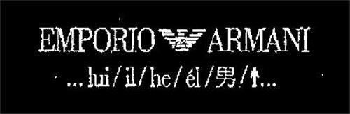 EMPORIO ARMANI ... LUI/IL/HE/EL/ ...