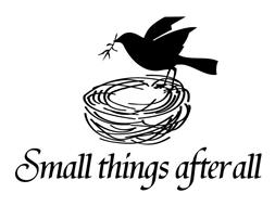 SMALL THINGS AFTER ALL