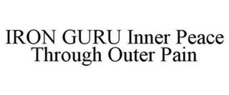 IRON GURU INNER PEACE THROUGH OUTER PAIN