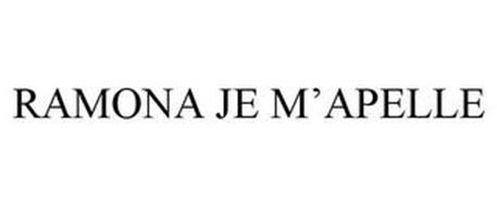 RAMONA JE M'APELLE