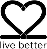 LIVE BETTER, HEART, TWO NUMBER TWOS.