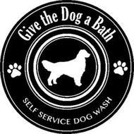GIVE THE DOG A BATH SELF SERVICE DOG WASH