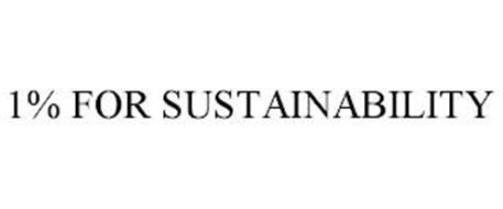 1% FOR SUSTAINABILITY