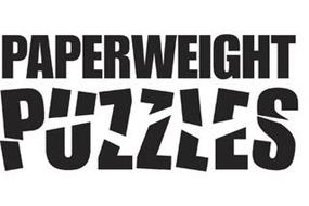 PAPERWEIGHT PUZZLES