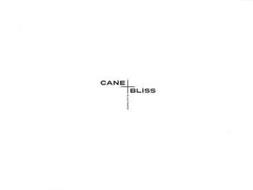 CANE BLISS BLACK MARKET