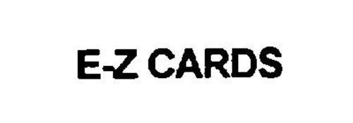 E-Z CARDS