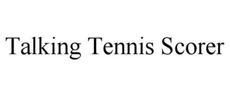 TALKING TENNIS SCORER
