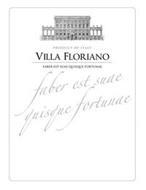 PRODUCT OF ITALY VILLA FLORIANO FABER EST SUAE QUISQUE FORTUNAE