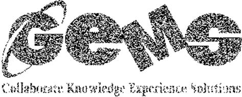 GEMS COLLABORATE KNOWLEDGE EXPERIENCE SOLUTIONS