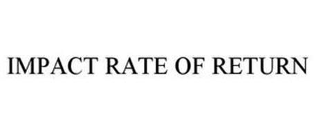 IMPACT RATE OF RETURN