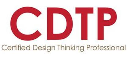 CDTP CERTIFIED DESIGN THINKING PROFESSIONAL