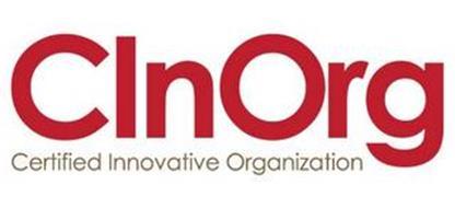 CINORG CERTIFIED INNOVATIVE ORGANIZATION