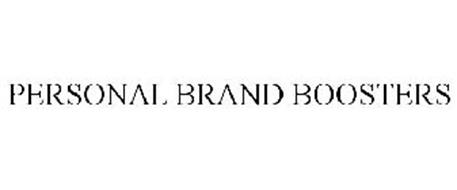 PERSONAL BRAND BOOSTERS