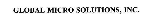 GLOBAL MICRO SOLUTIONS, INC.
