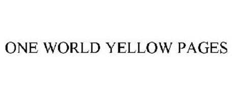 ONE WORLD YELLOW PAGES