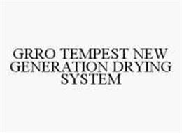 GRRO TEMPEST NEW GENERATION DRYING SYSTEM
