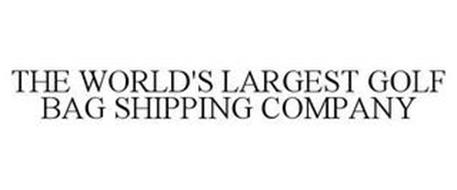 THE WORLD'S LARGEST GOLF BAG SHIPPING COMPANY