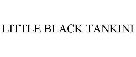 LITTLE BLACK TANKINI