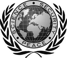· SCIENCE · SECURITY · PEACE