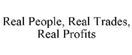 REAL PEOPLE, REAL TRADES, REAL PROFITS