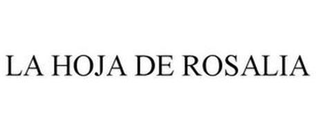 LA HOJA DE ROSALIA