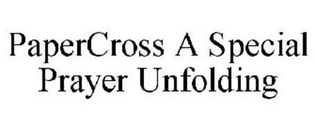 PAPERCROSS A SPECIAL PRAYER UNFOLDING