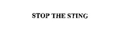 STOP THE STING