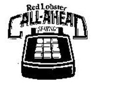 RED LOBSTER CALL-AHEAD SEATING
