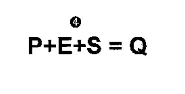 P+E4+S=Q