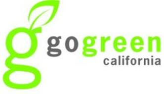 G GO GREEN CALIFORNIA