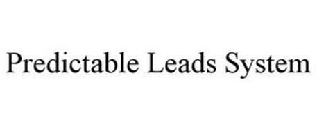 PREDICTABLE LEADS SYSTEM