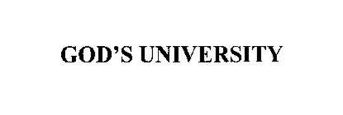 GOD'S UNIVERSITY