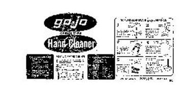 GO-JO CREME TYPE HAND CLEANER GOJER INC.