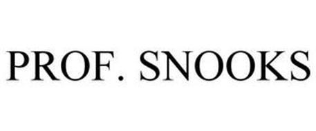PROF. SNOOKS