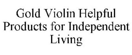 GOLD VIOLIN HELPFUL PRODUCTS FOR INDEPENDENT LIVING