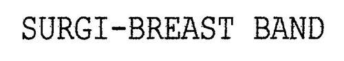 SURGI-BREAST BAND