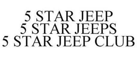 5 STAR JEEP 5 STAR JEEPS 5 STAR JEEP CLUB