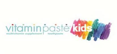 VITAMINPASTE KIDS MULTIVITAMIN SUPPLEMENT TOOTHPASTE