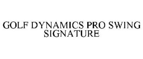 GOLF DYNAMICS PRO SWING SIGNATURE