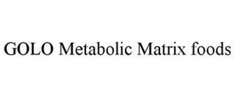 GOLO METABOLIC MATRIX FOODS