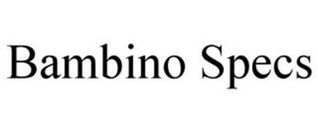 BAMBINO SPECS