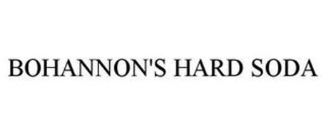 BOHANNON'S HARD SODA