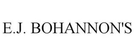 E.J. BOHANNON'S