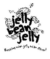 JELLY BEAN JELLY BURSTING WITH JELLY BEAN FLAVOR!